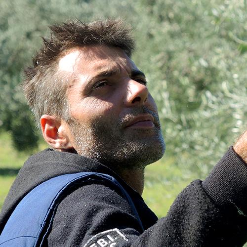 Gian-Luca vom Team Podere Riparbella