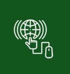 Icon green digitalization