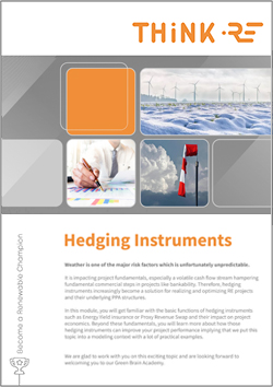 Hedging Solutions for Power Purchase Agreements Green Brain Academy