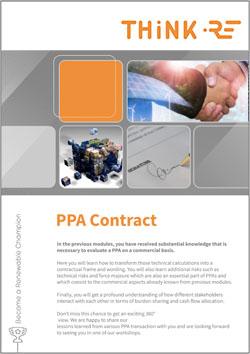 PPA contract Green Brain Academy Module