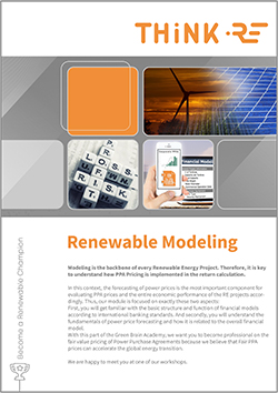 Renewable Power market modeling