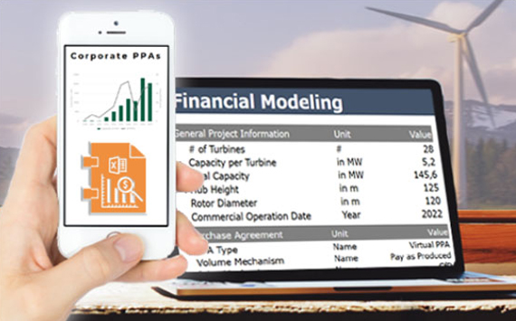 Financial Modeling of a renewable energy project