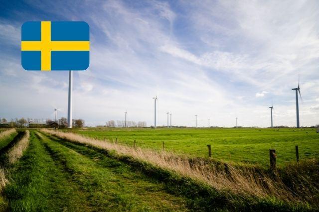 wind farm sweden
