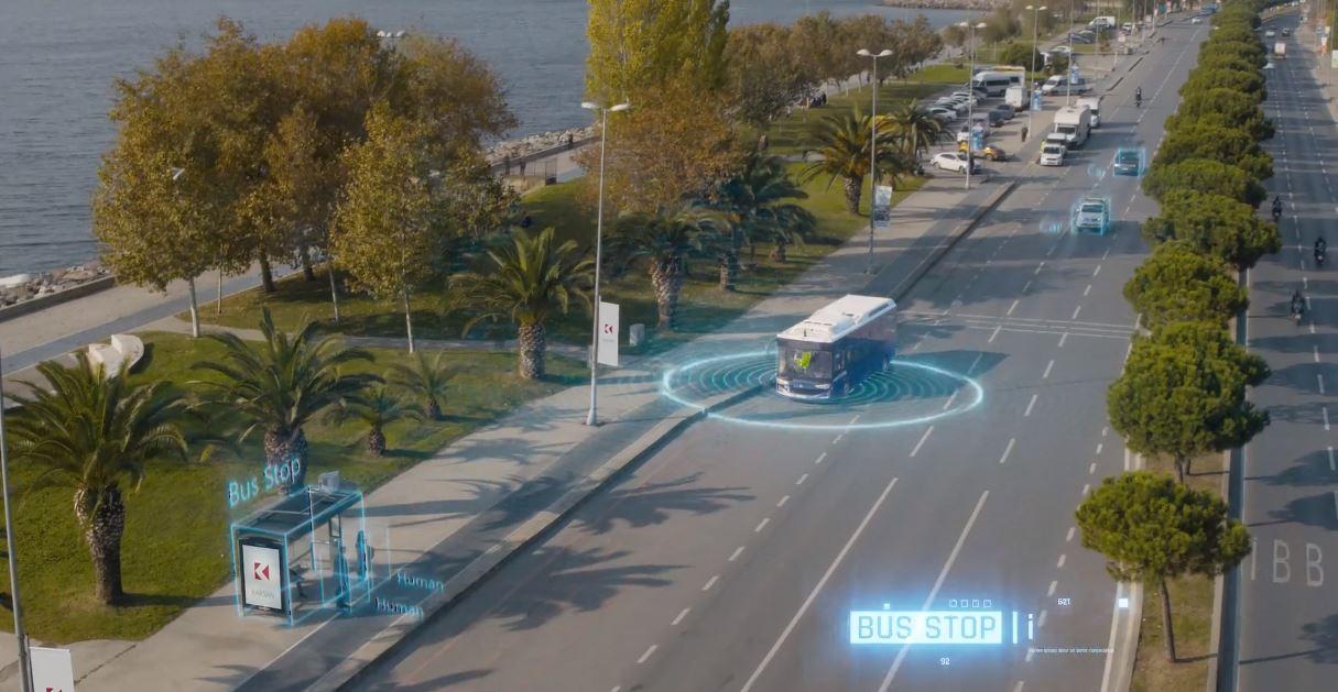 Karsan Atak Autonomous Reklam Filmi Türkçe