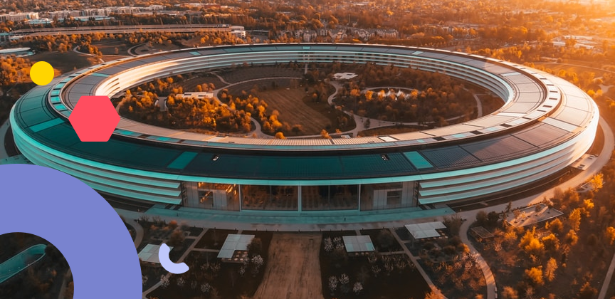 Apple company HQ