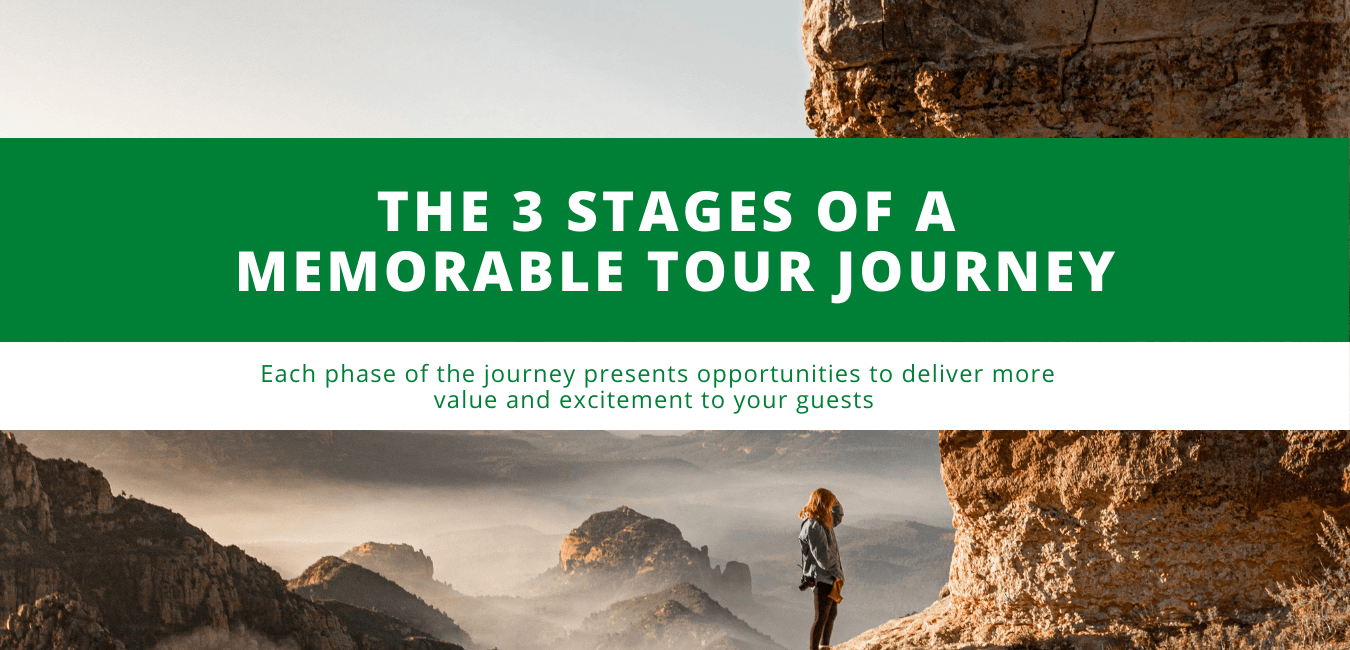 The 3 Stages of a Memorable Tour Journey