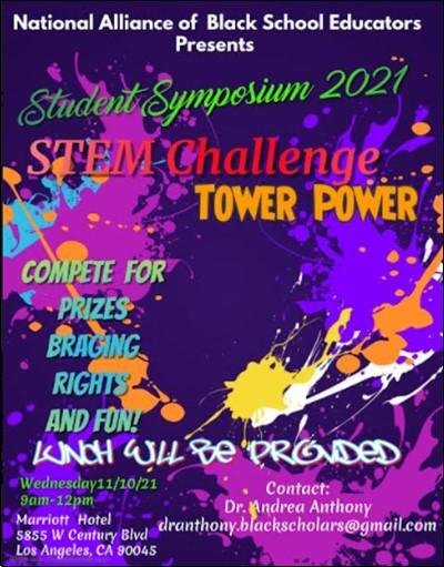 Student symposium flyer