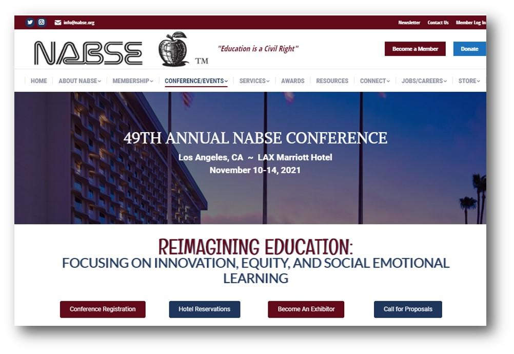 NABSE Conference Link