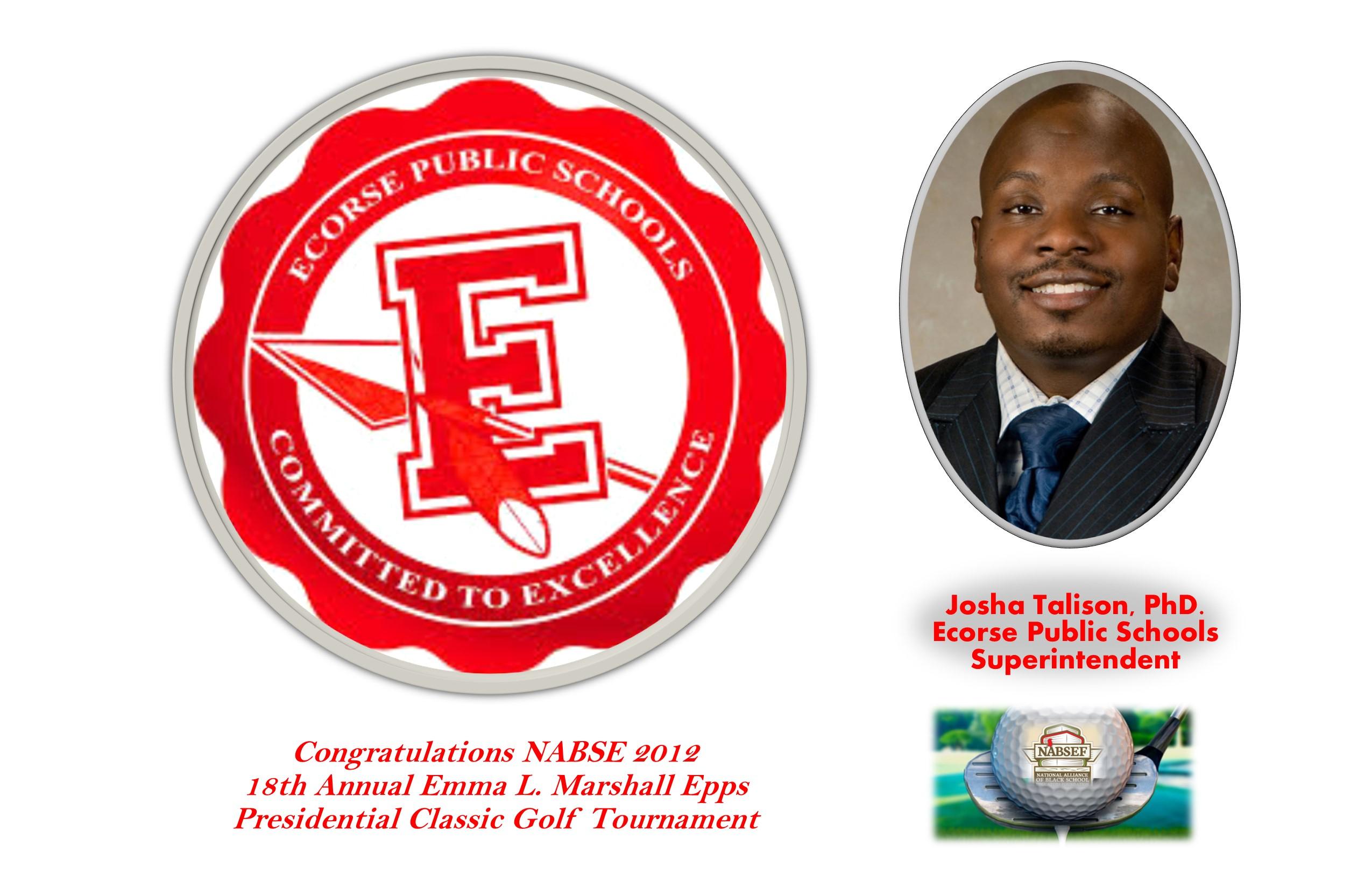 Ecorse Public Schools, Dr. Josha Tolison, Superintendent of Schools