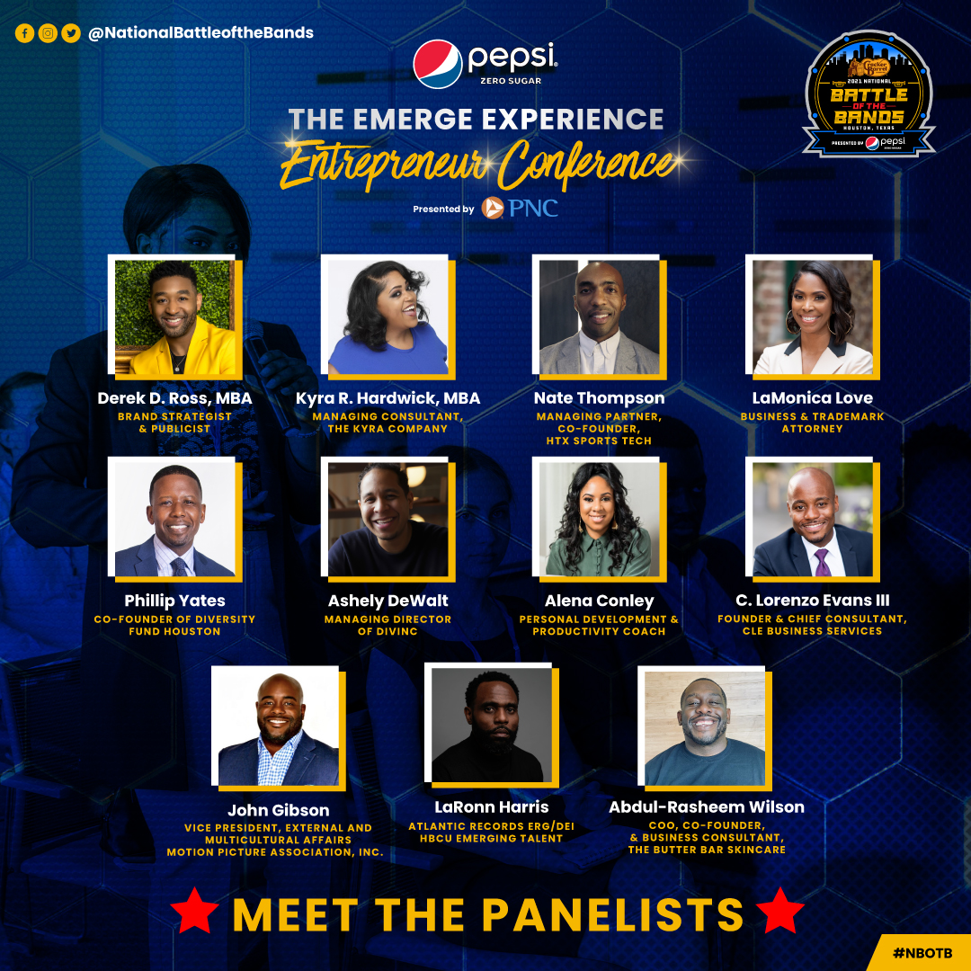 2021 National Battle of the Bands - Emerge Experience Panelist