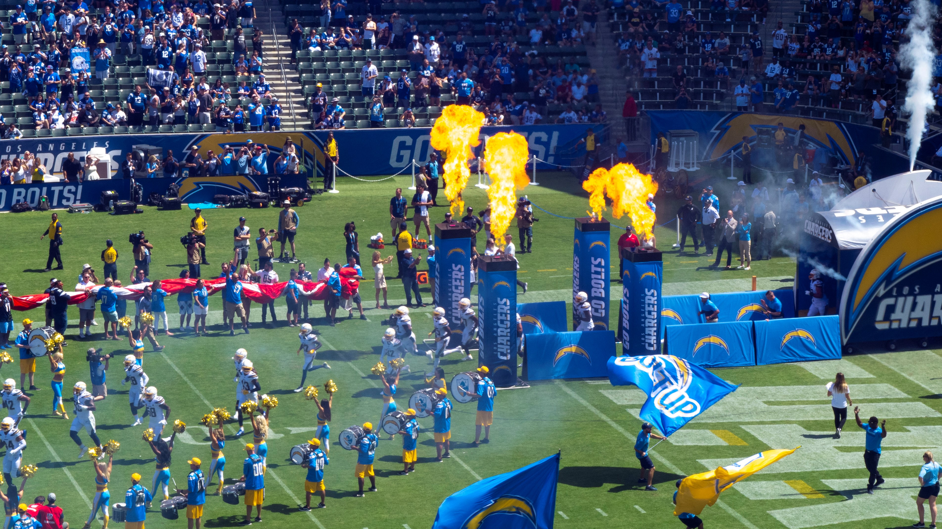 Chargers vs. Colts