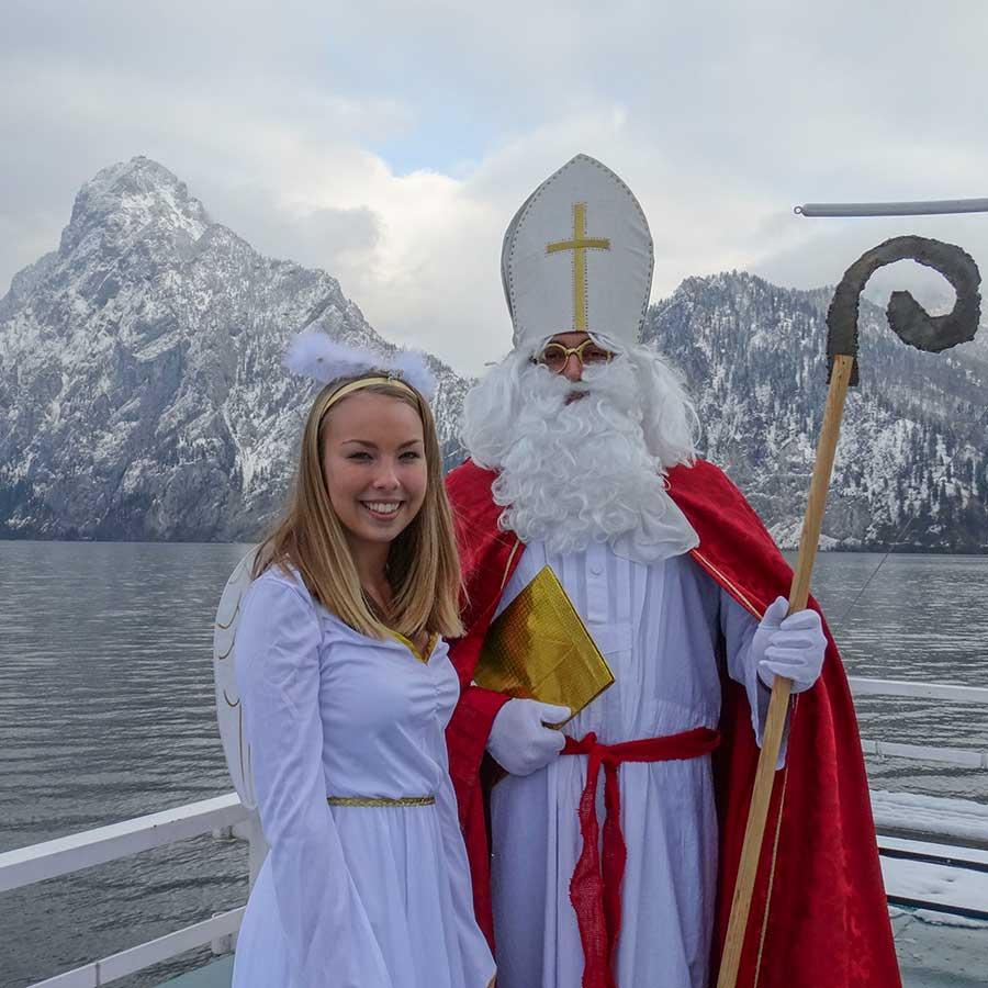Schifffahrt mit dem heiligen St. Nikolaus