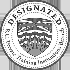 BC Designated Private Training Institution Branch seal