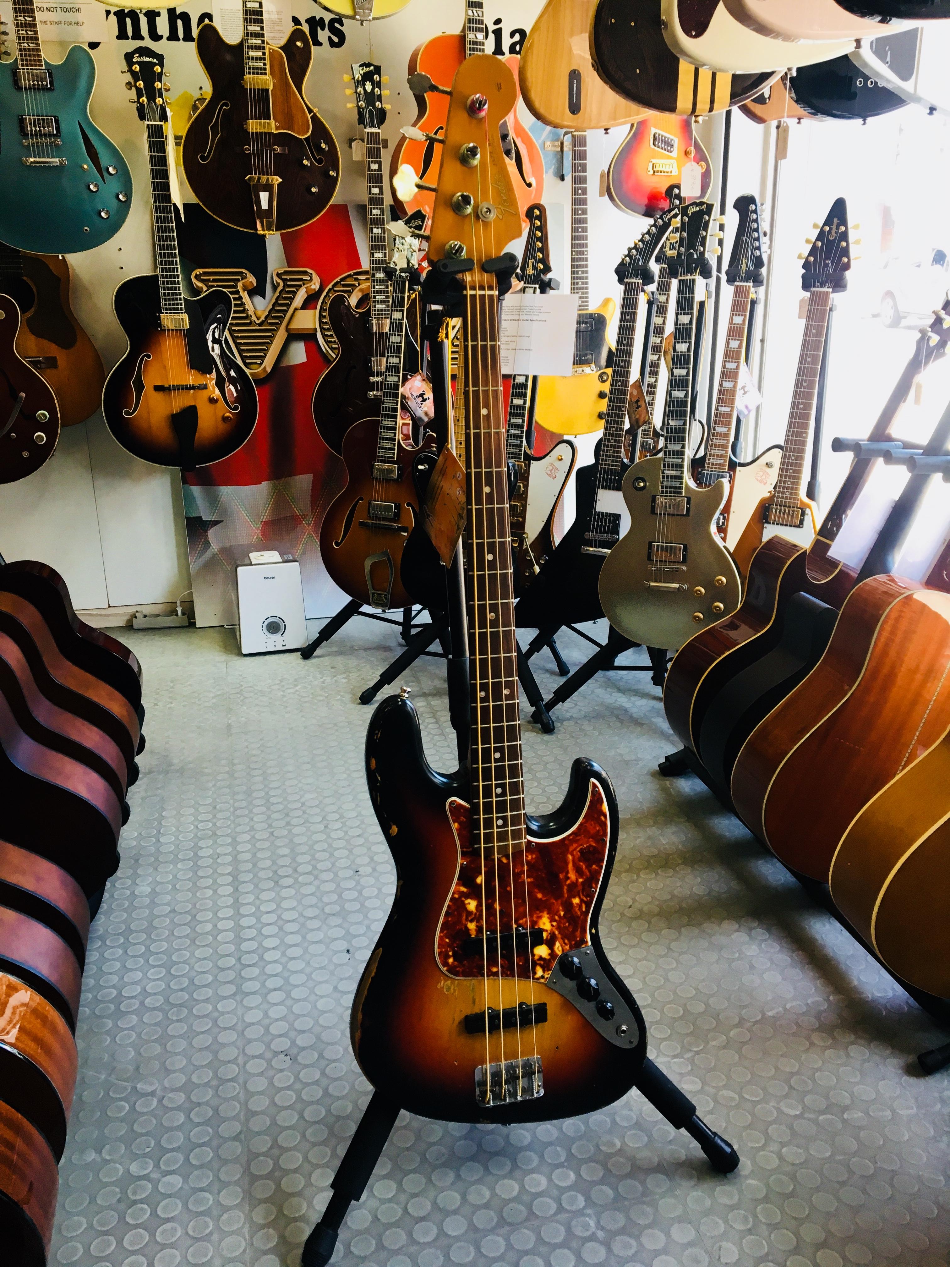 Fender Jazz Bass, årgang 1965, L-Serie