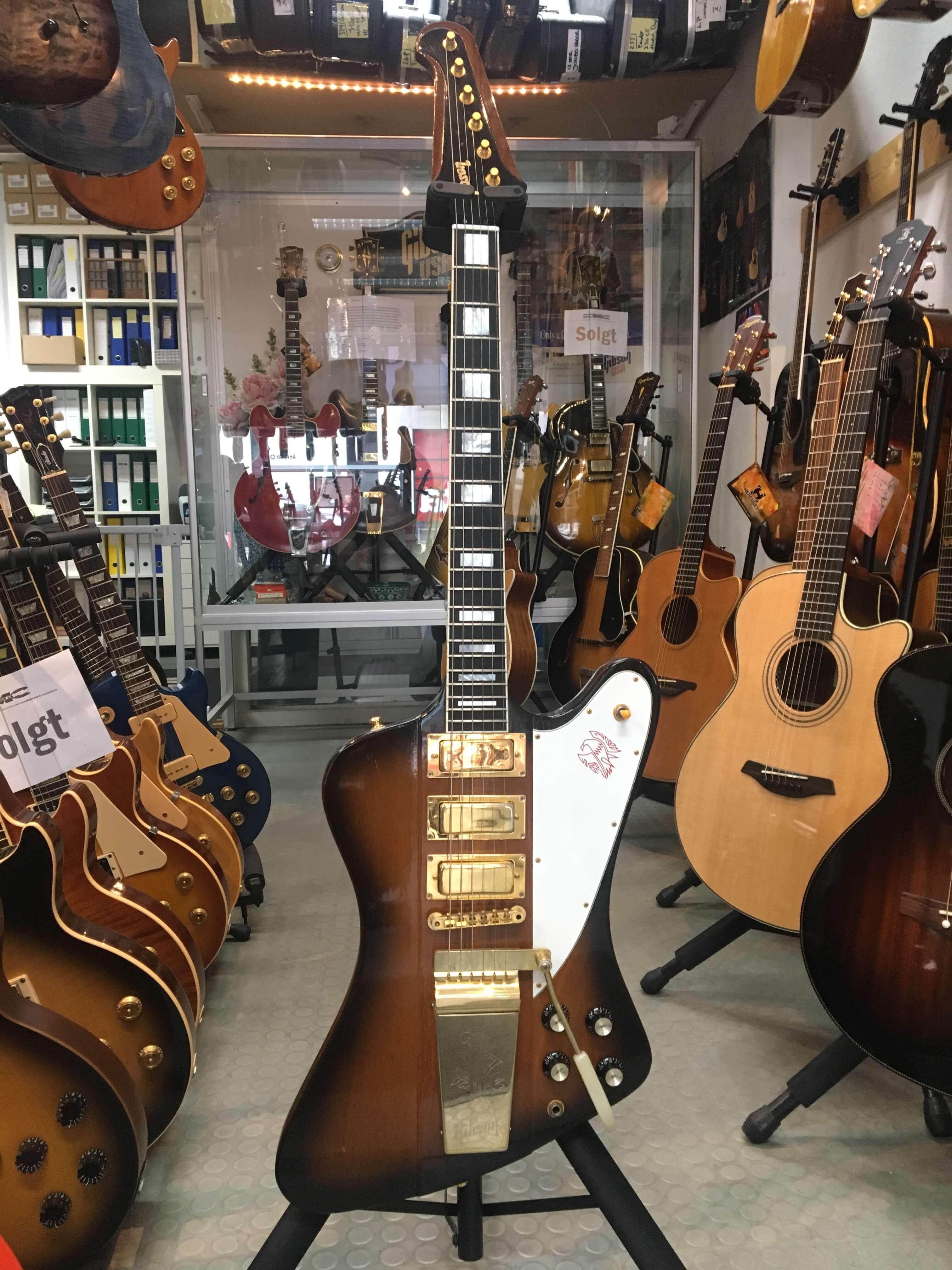 Gibson Firebird 20th Anniversary Edition, 3 PU, Lyra Vibrato, Gold