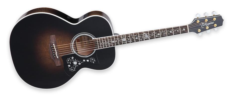 Takamine EF450C-TT-TBB, Thermal Top Guitar