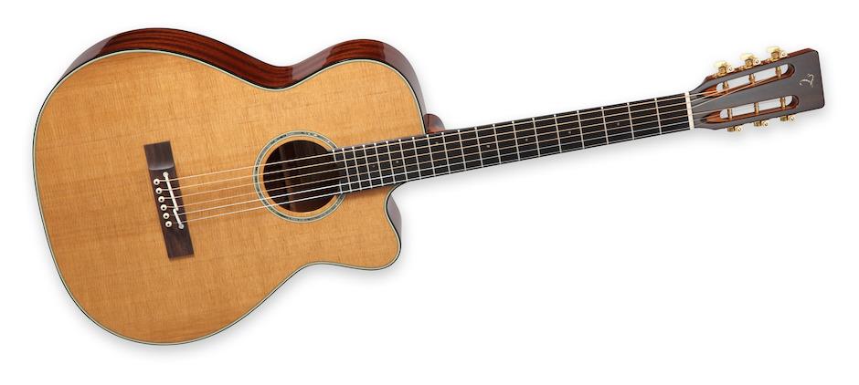 Takamine EF740FS-TT, Thermal Top Guitar