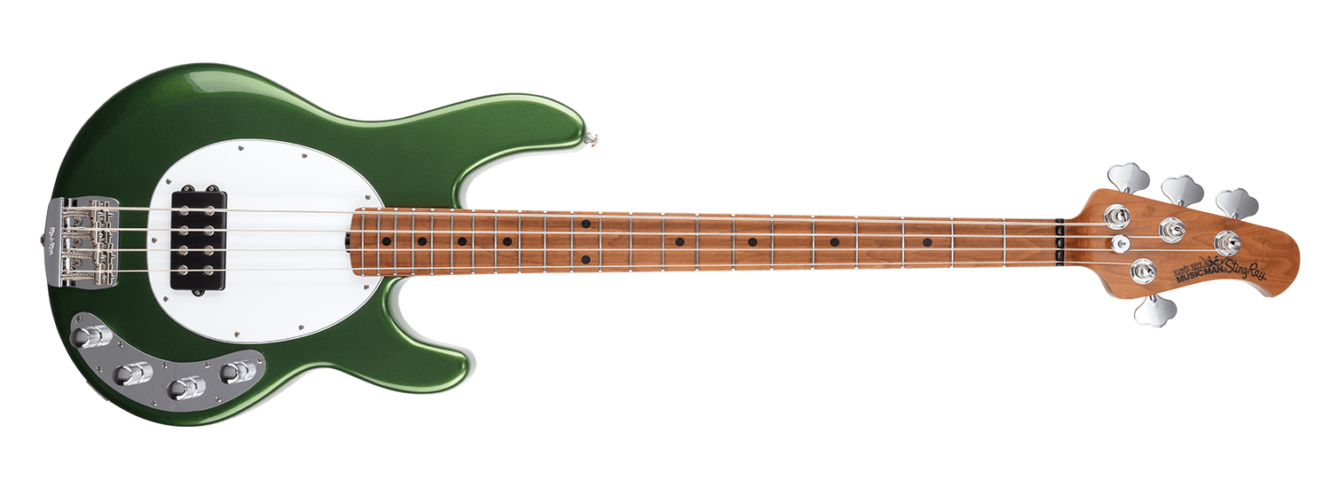 Music Man Stingray Special, Charging Green