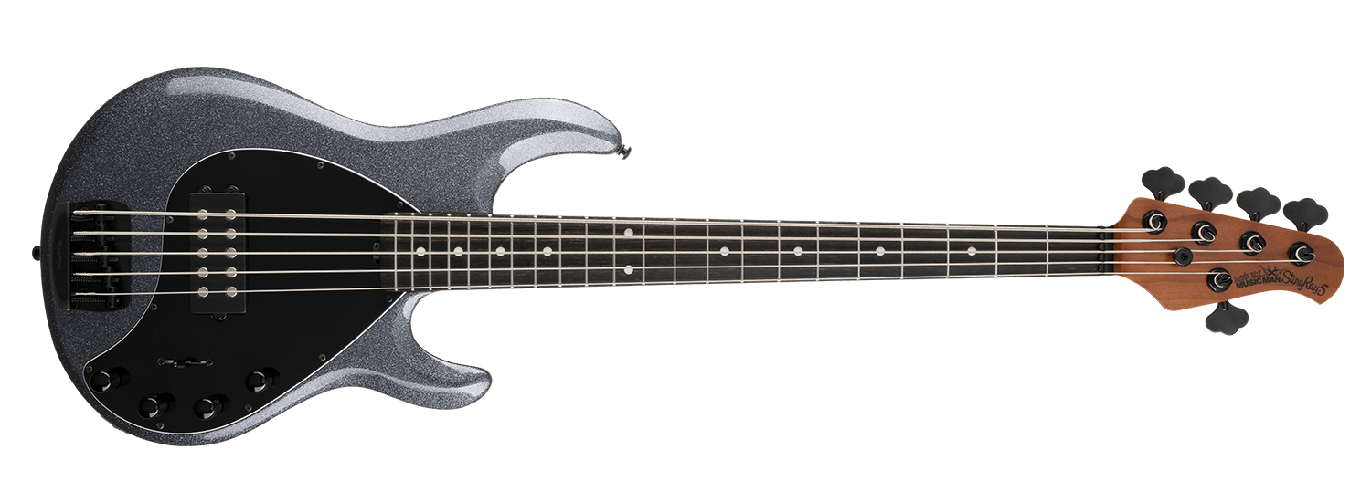 Music Man Stingray 5 Special, Charcoal Sparkle