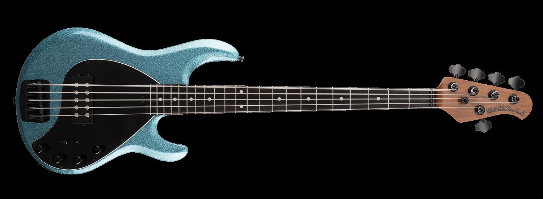 Music Man Stingray 5 Special, Aqua Sparkle