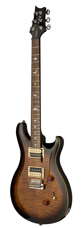 PRS SE Custom 24, Black Gold Burst