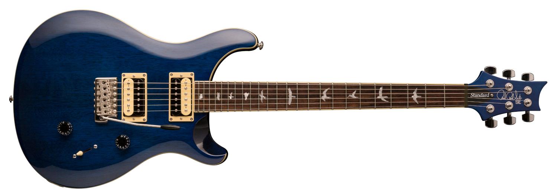 PRS SE Standard 24, Transparent Blue