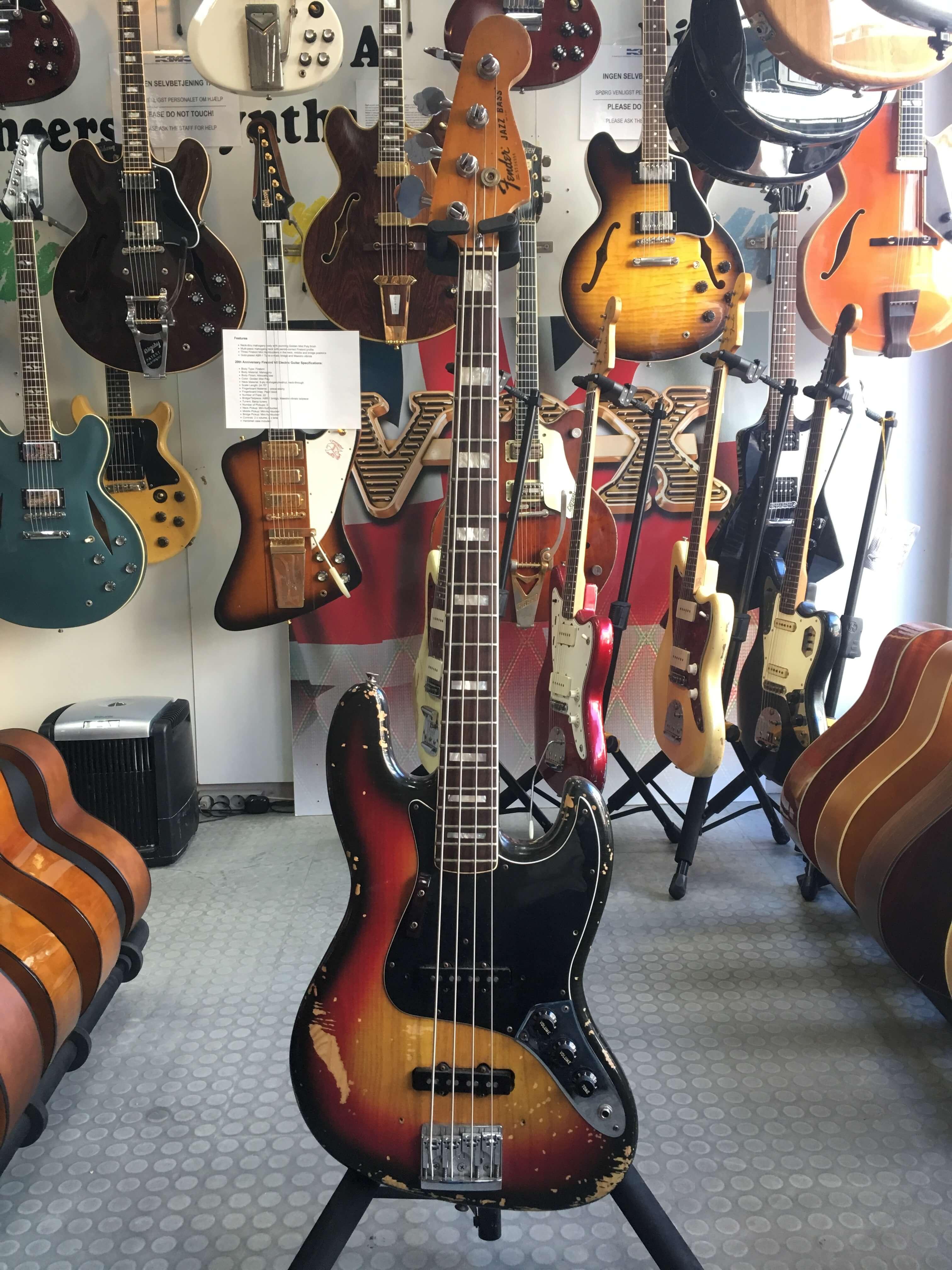 Fender Jazz bass US 1977