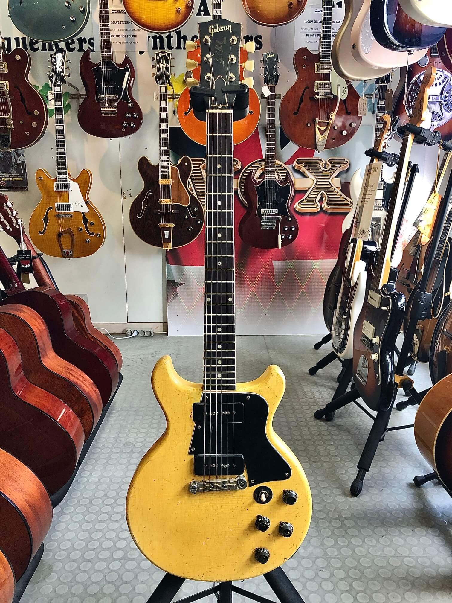 Gibson LP Special, TV Yellow, årgang 1961