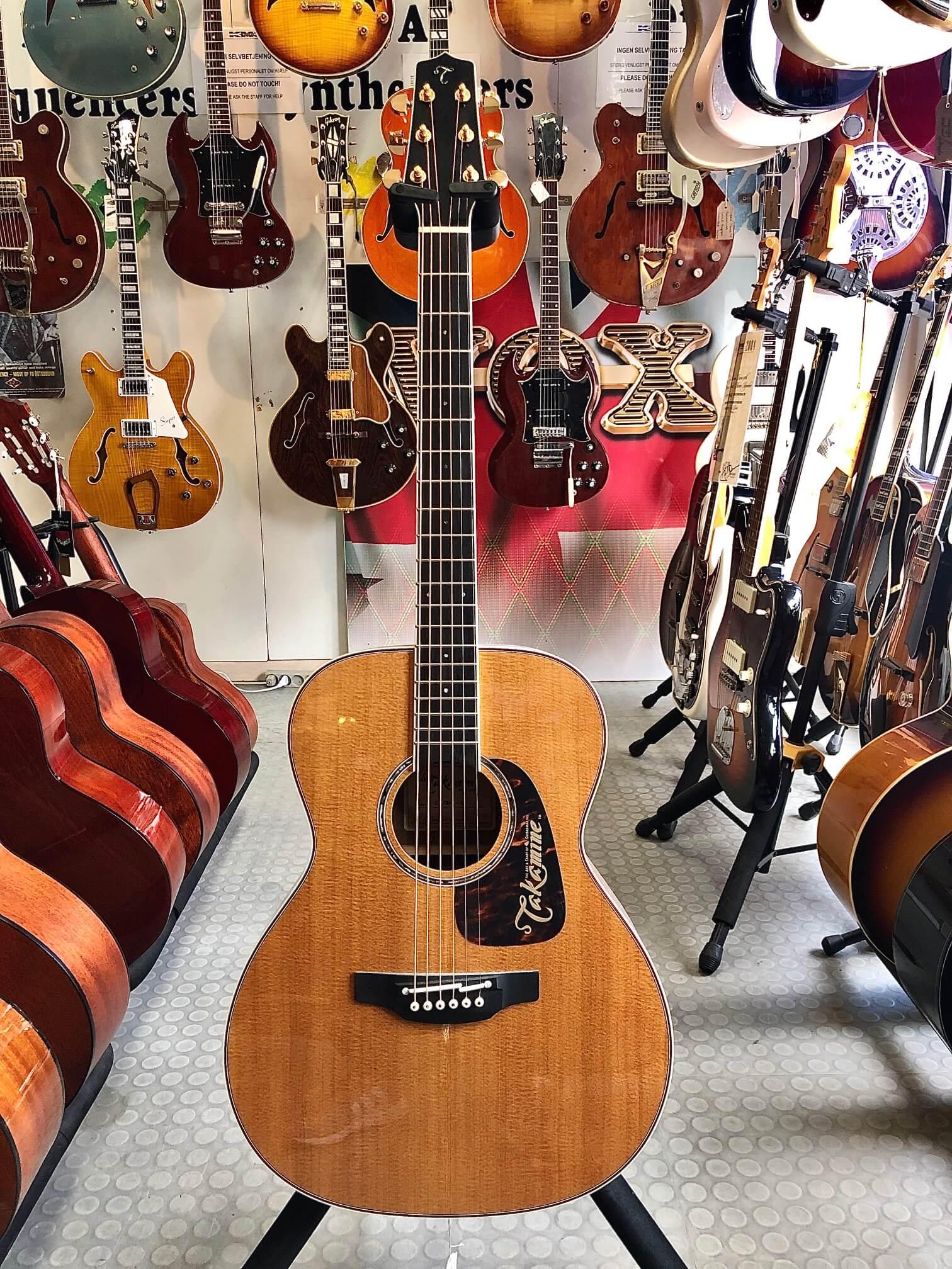 Takamine CPMO-TT CP7, Thermal Top guitar