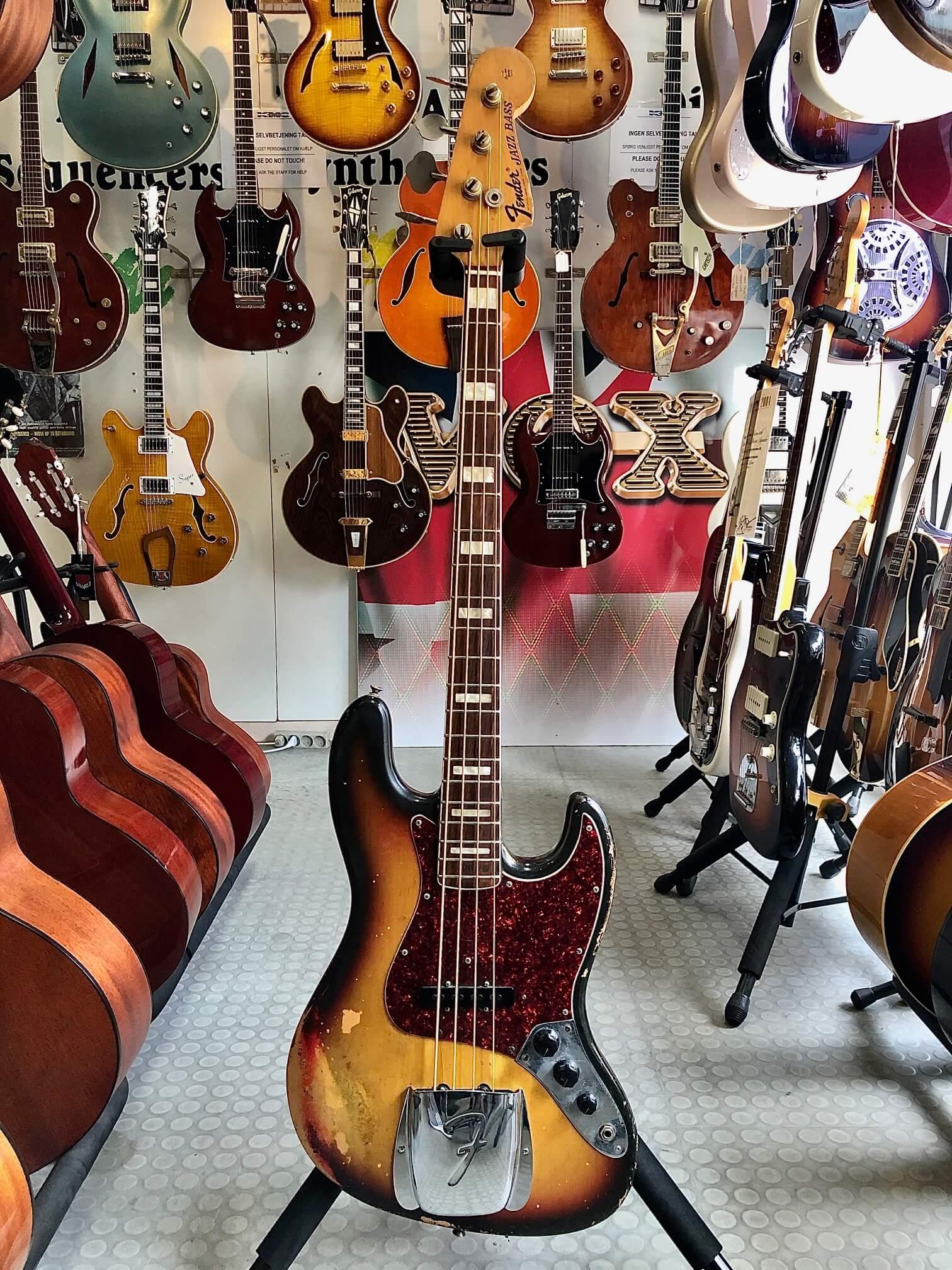 Fender Jazz Bass, årgang 1972, OHC