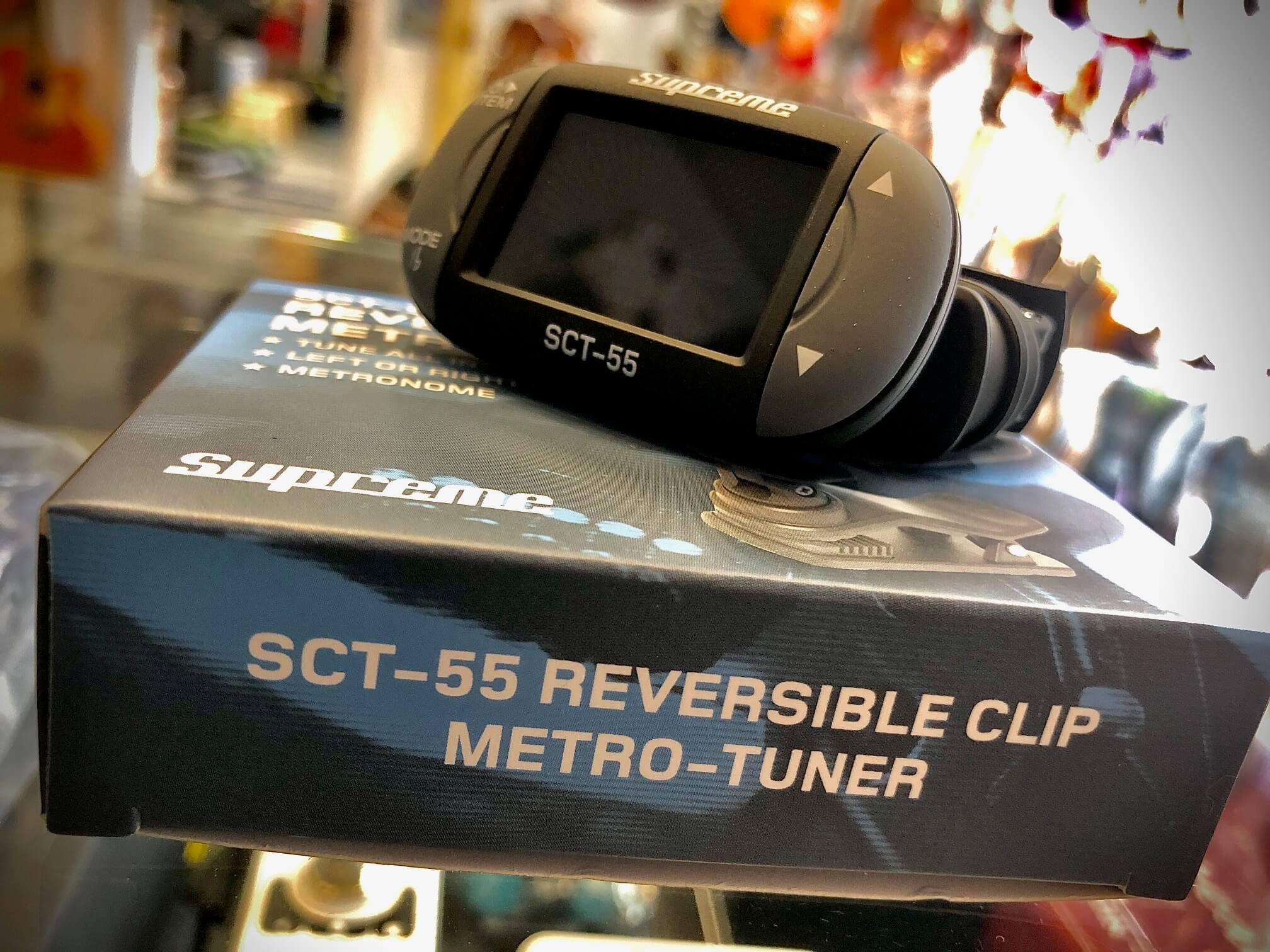 Supreme SCT-55 Reversible Clip Metro Tuner