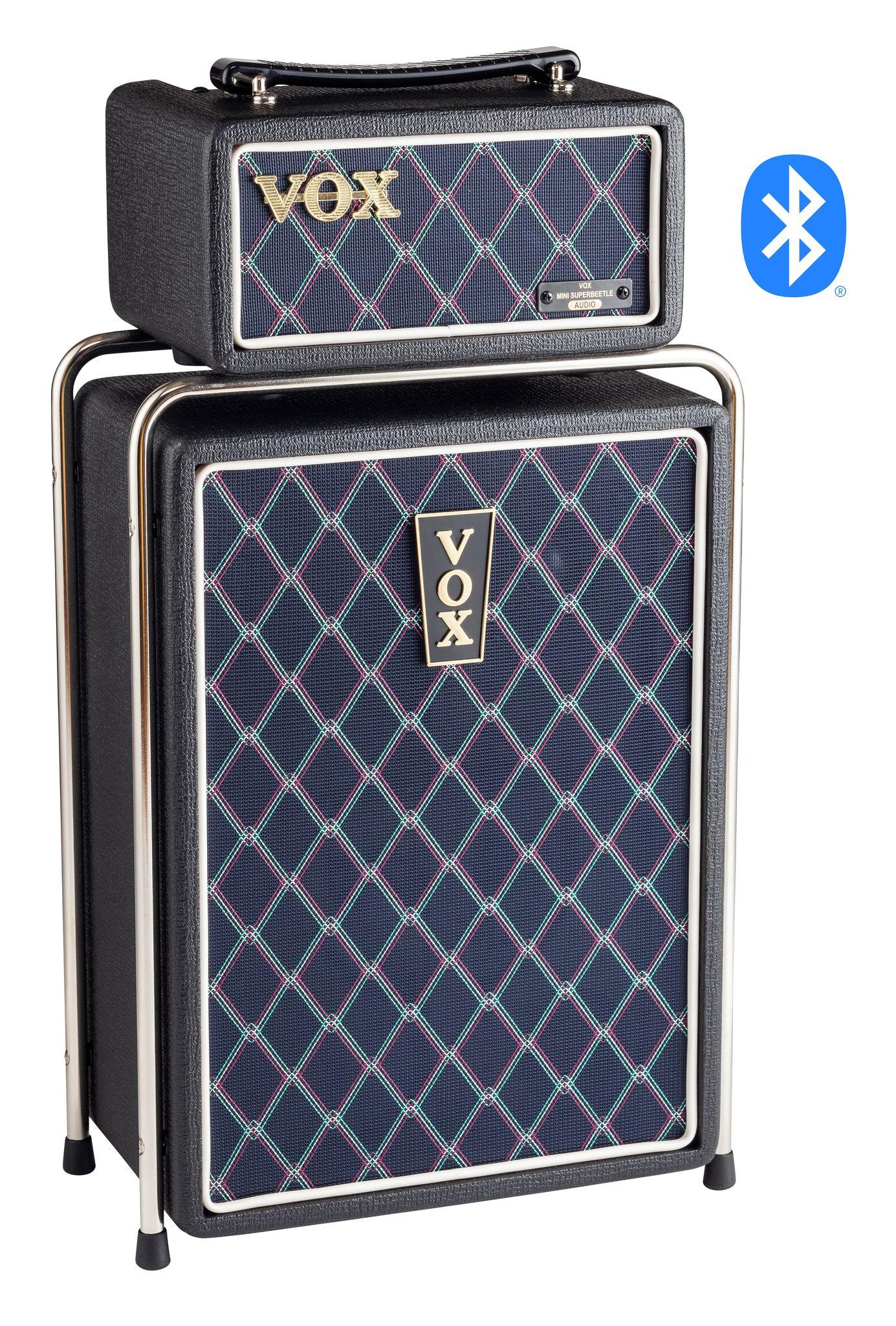 VOX MSB50-AUDIO-BK Bluetooth Speaker, Black