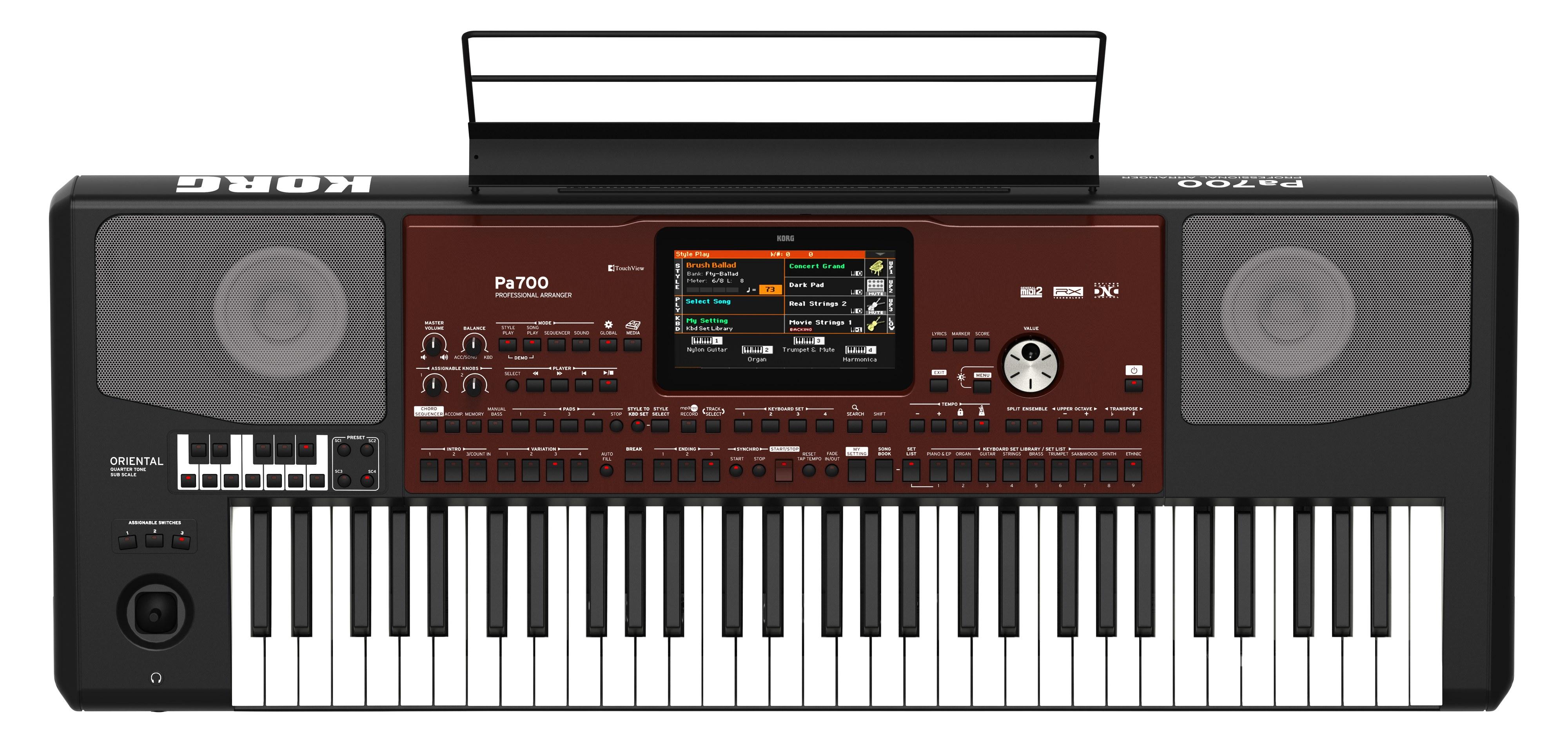 KORG PA700-OR Oriental Arranger Keyboard