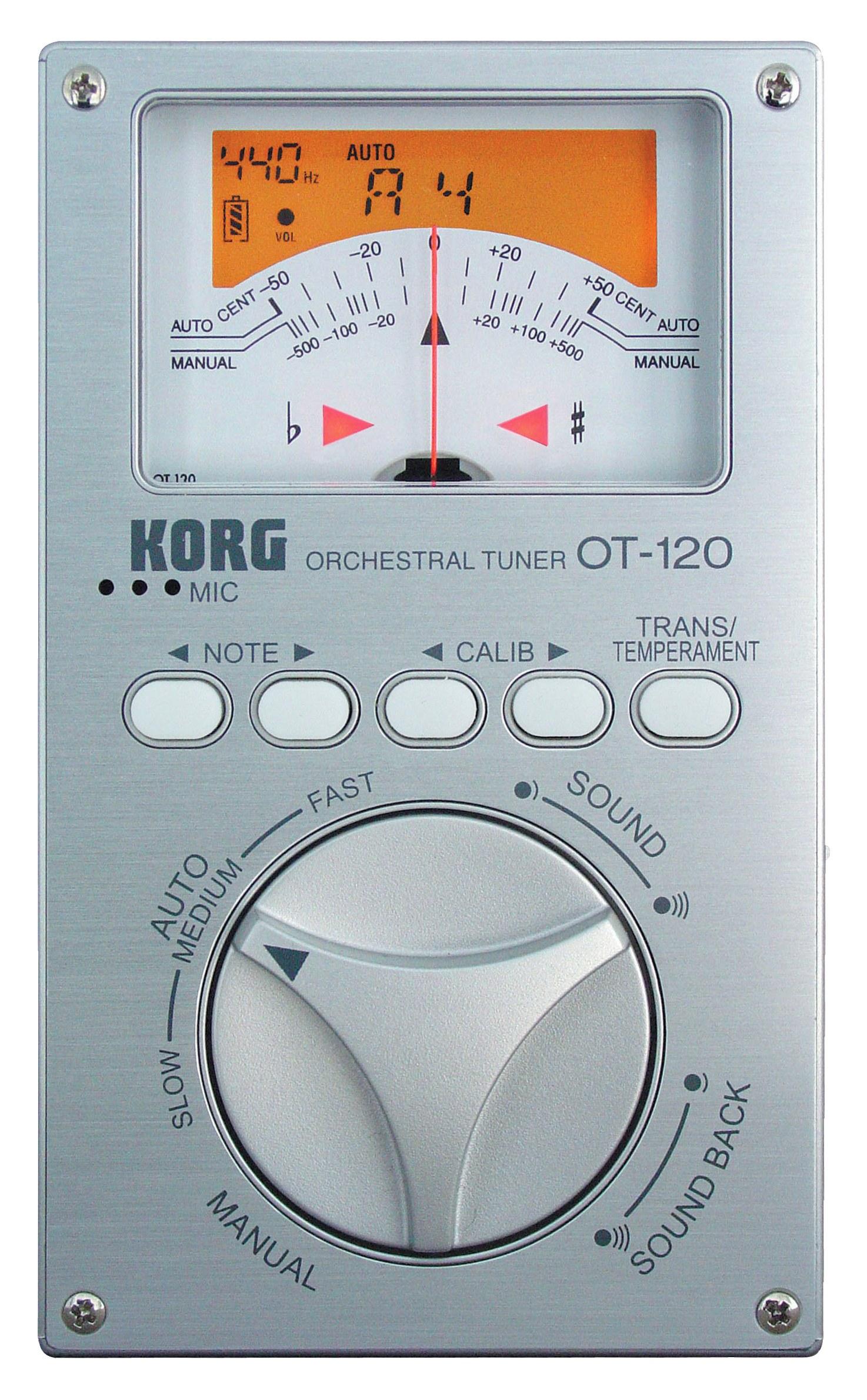Korg OT120 Chromatic tuner