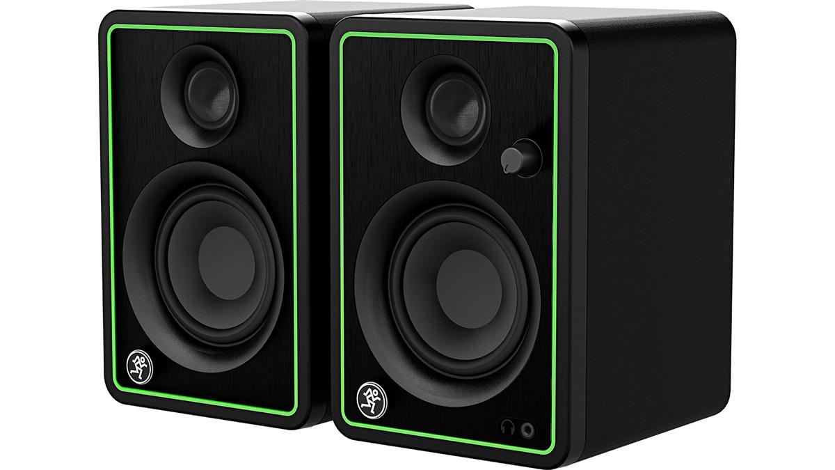 """Mackie CR3-XBT - 3"""" MULTIMEDIA MONITORS WITH BLUETOOTH®"""
