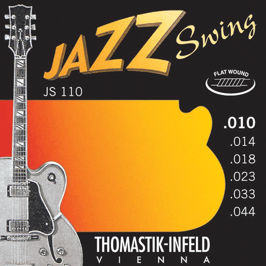 Thomastik JS110 Jazz set Swing Flat Wound 10-44
