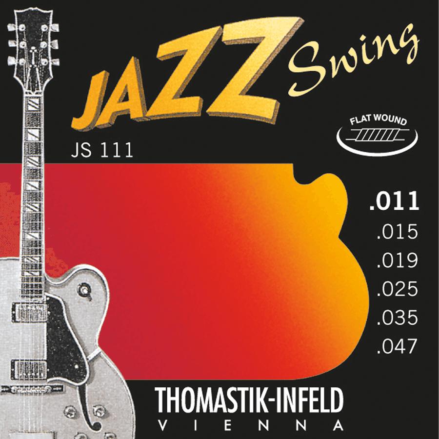 Thomastik JS111 Jazz set Swing Flat Wound 11-47