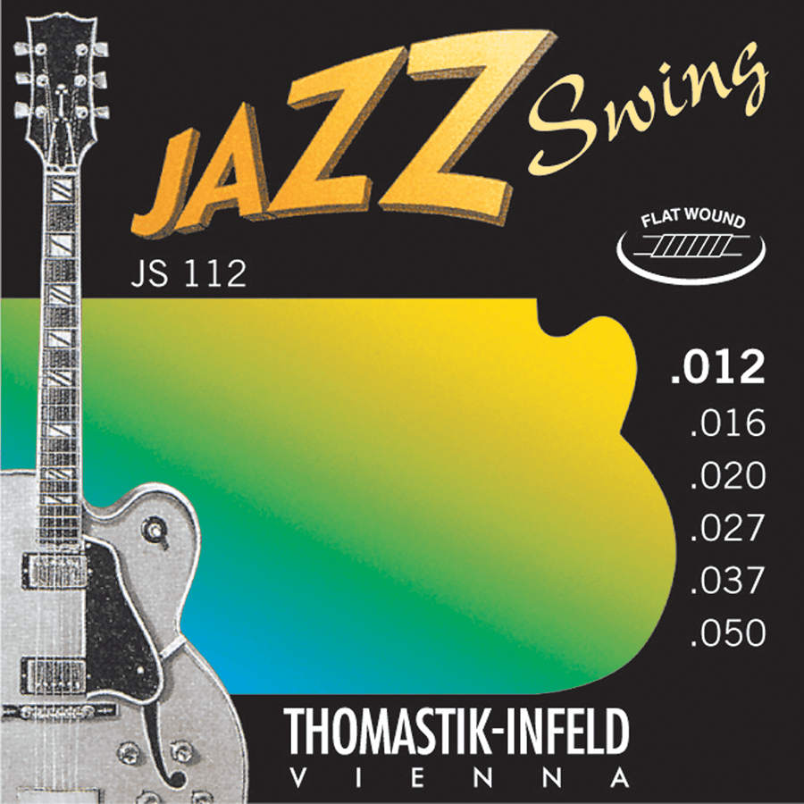 Thomastik JS112 Jazz set Swing Flat Wound 12-50
