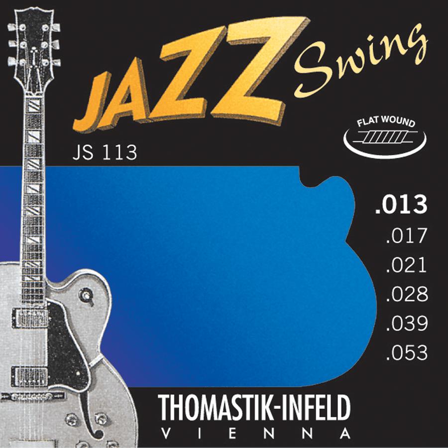 Thomastik JS113 Jazz set Swing Flat Wound 13-53