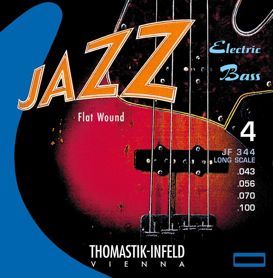 Thomastik JF344 Jazz set Flat Wound 43-56-70-100