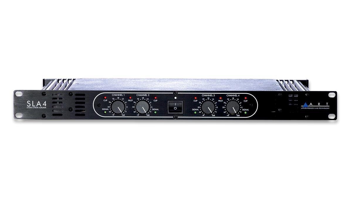 SLA-4 4X140W POWER AMPLIFIER