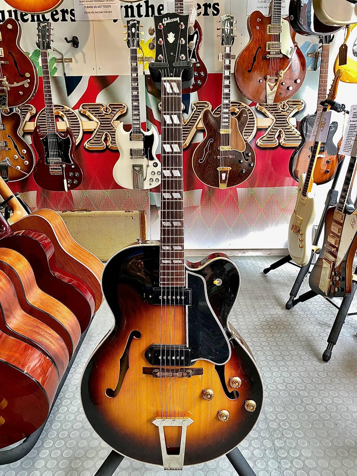 Gibson L7 CP 1949 Cut Premium A 3090 Original Lipton Case