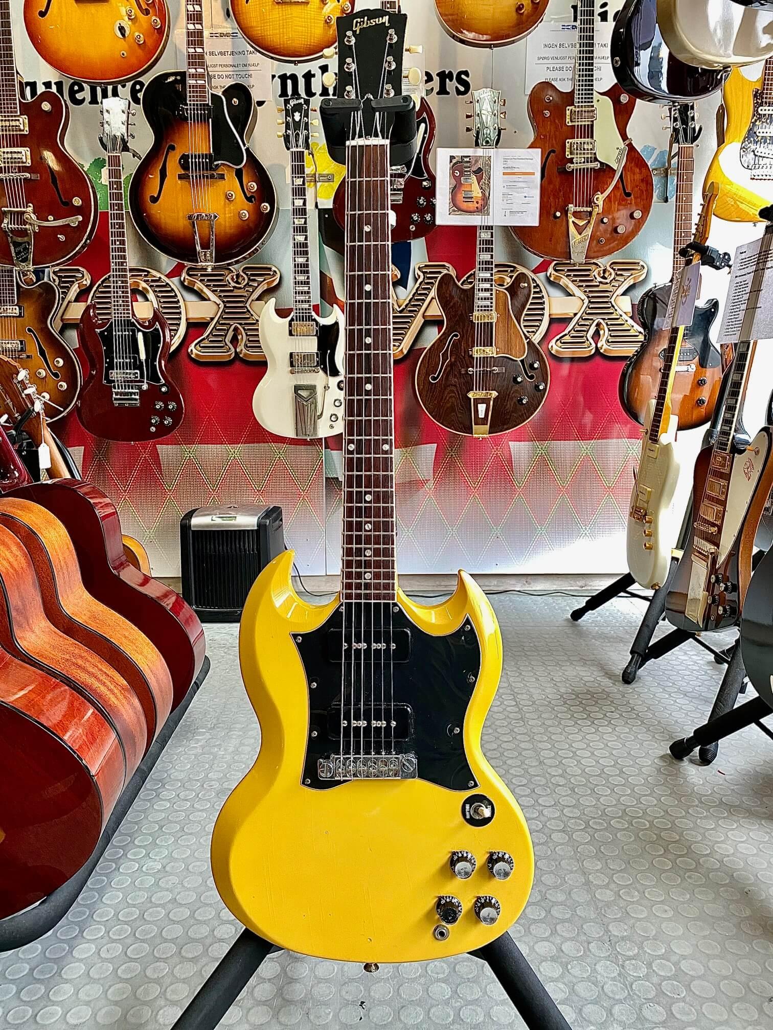 Gibson Les Paul SG TV Yellow 1967