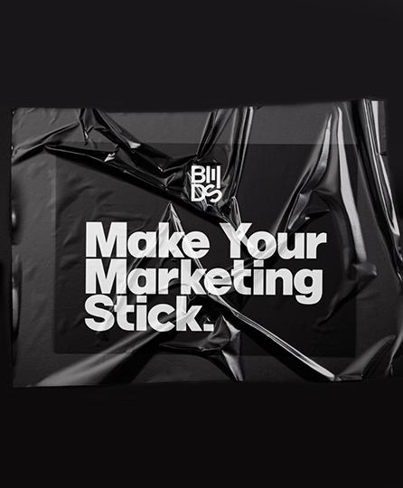 black mansion design studio marketing advertisement
