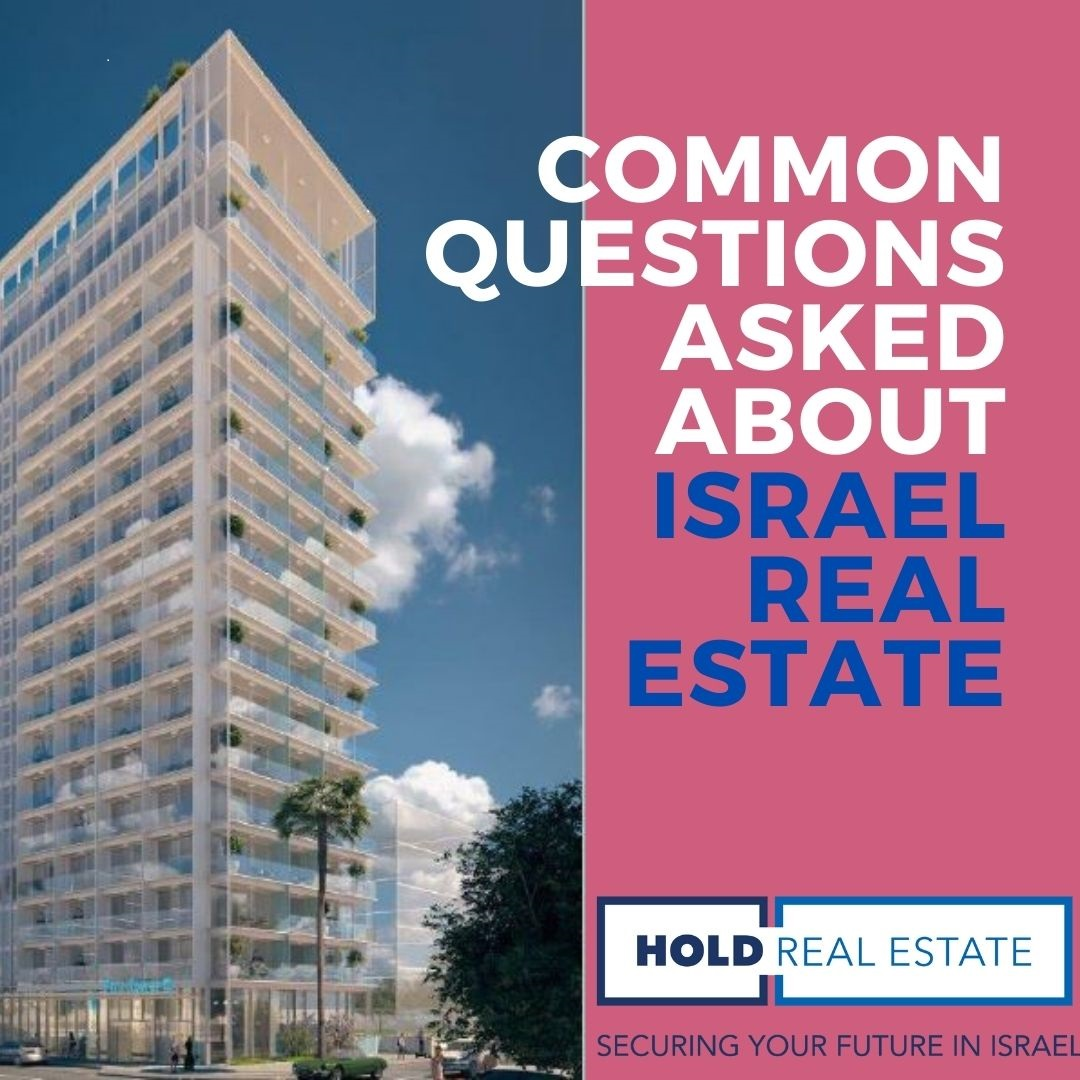 Common questions about buying property in Israel