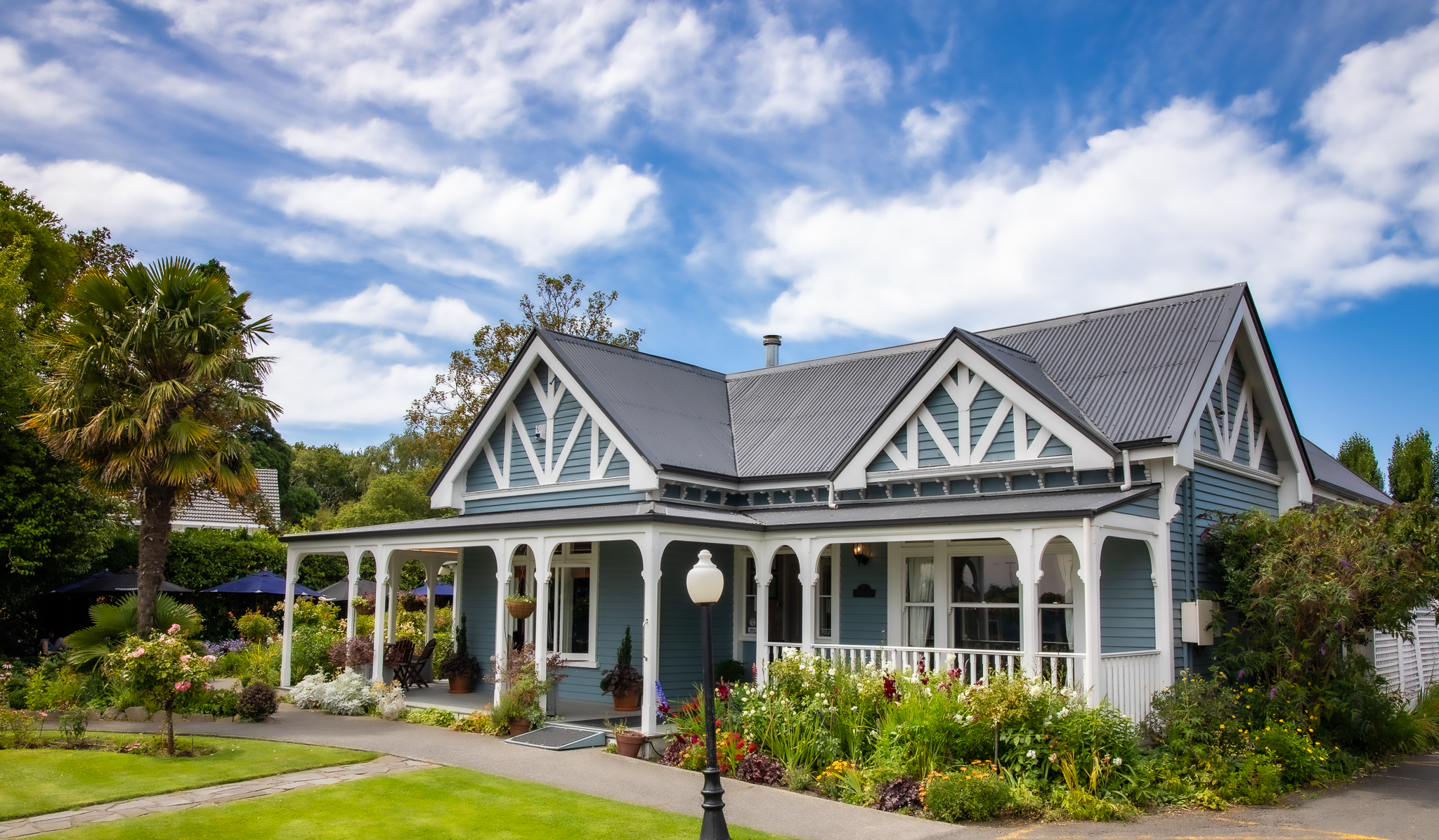 The Old Vicarage builing in Christchurch, New Zealand