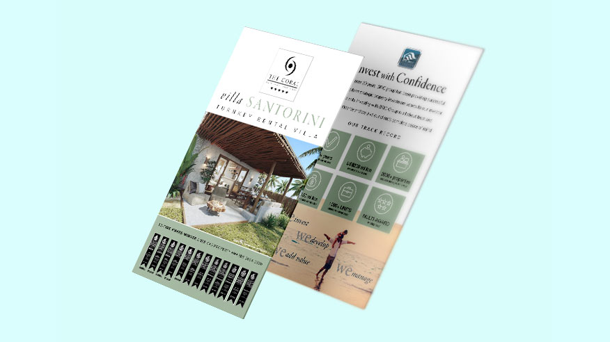 Download brochure with information on investment in villa rental suites in Northeast Brazil