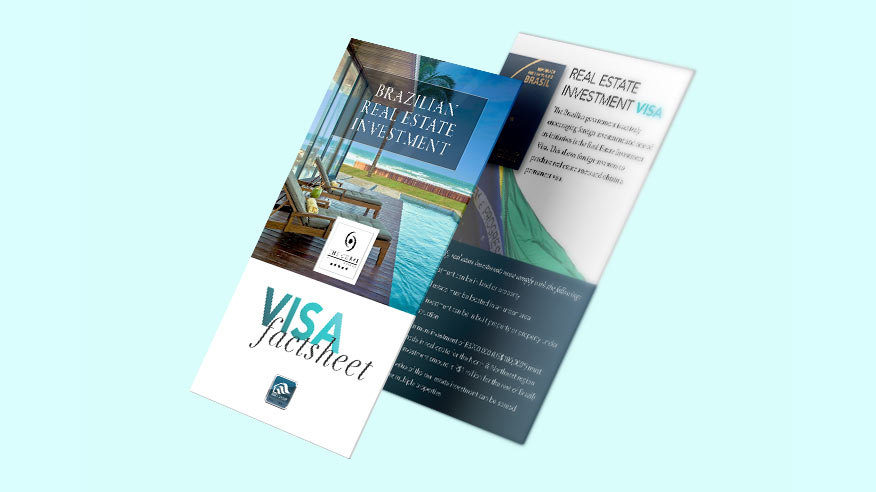 Download brochure with all the details about the Brazil investment visa