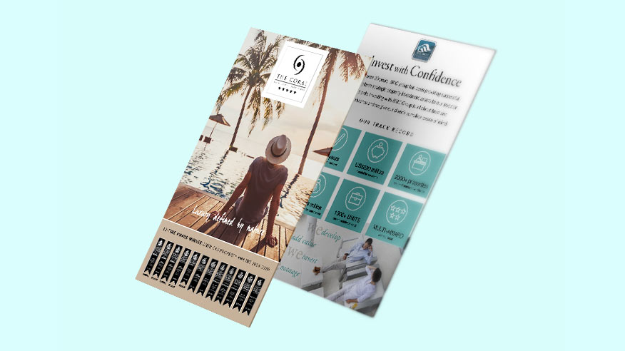 Download brochure with information on investment in beach resort land plots