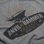 Anvil & Hammer tee shirt design Denton, TX
